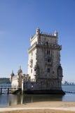 Torre Lisbona Portogallo di Belem Fotografie Stock Libere da Diritti