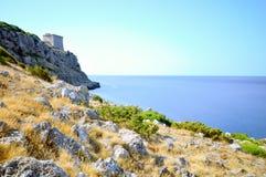 Torre litoral Imagens de Stock Royalty Free