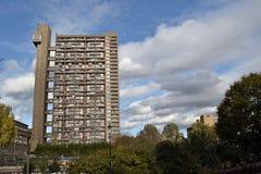 Torre Londres de Trellick Fotos de archivo libres de regalías