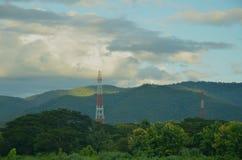 Torre móvil Foto de archivo libre de regalías