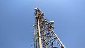 Torre móvil de la red Foto de archivo libre de regalías