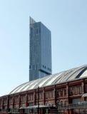 Torre Manchester de Hilton Foto de archivo