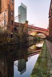 Torre Manchester Reino Unido de Beetham Foto de Stock Royalty Free