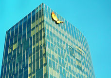 Torre Mapfre在巴塞罗那 库存照片