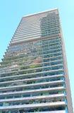Torre Mapfre är en skyskrapa i den olympiska porten, Barcelona Royaltyfria Foton