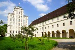 Torre matemática en la abadía de Kremsmunster, Austria Imágenes de archivo libres de regalías
