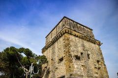 Torre Matilde Viareggio. View of the Matilde Tower in Viareggio Versilia medieval period stock photo