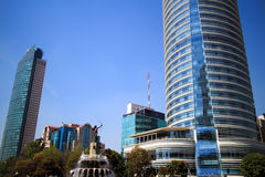 Torre Mayor and Hotel St Regis Stock Image