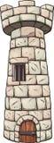 Torre medieval stock de ilustración