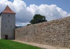 Torre medieval de Brasov Rumania foto de archivo