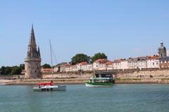 Torre medieval de La Rochelle, Francia Foto de archivo libre de regalías