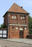 A torre medieval de Putinnen em Tangermuende foto de stock royalty free