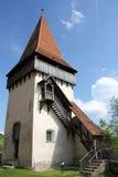 Torre medieval del reloj Foto de archivo