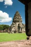 Torre medieval distrito del sPhimai, Nakhon RatchasimaCountry Thaila Fotos de archivo libres de regalías