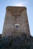 Torre medieval do castelo da féria Fotos de Stock