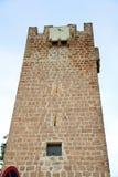 Torre medieval en el repique de Becerro Cazorla España Imagen de archivo