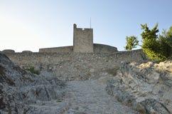 Torre medieval no castelo de Marvao Imagens de Stock