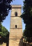 Torre medievale de Convento Santa Clara Seville della torre immagini stock libere da diritti