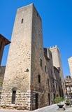 Torre medievale. Tarquinia. Il Lazio. L'Italia. Fotografie Stock