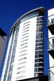 Torre meridiana en la bahía de Swansea Imagen de archivo