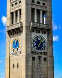 Torre meteorológica del museo en Munich Alemania fotos de archivo