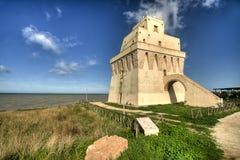 Torre Mileto San Nicandro Garganico FG landskap Arkivbilder