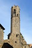 Torre Mirador Del reÃ, Barcelona Stary miasto, Hiszpania Zdjęcia Royalty Free