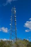 Torre moderna das telecomunicações Fotos de Stock