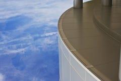 Torre moderna del día de Babel Fotografía de archivo