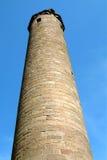 Torre monástica - Brechin, Scotland Foto de Stock
