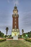 Torre monumental en Buenos Aires foto de archivo