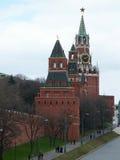 Torre Moscú el Kremlin de Spassky Imagenes de archivo