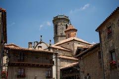 Torre na vila Rupit Imagem de Stock Royalty Free