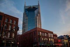 Torre Nashville del centro, TN 03/30/2018 di AT&T fotografia stock