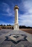 torre nella tomba di burguiba Fotografia Stock Libera da Diritti