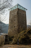 Torre nera in Brasov, Romania Fotografie Stock Libere da Diritti