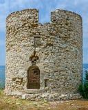 Torre in Nessebar, Bulgaria Fotografia Stock