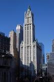 Torre New York City del rascacielos Imagen de archivo