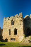 Torre no castelo do ludlow Fotos de Stock Royalty Free