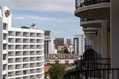 Torre no meio-dia Imagem de Stock Royalty Free
