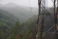 Torre no monte Imagem de Stock Royalty Free