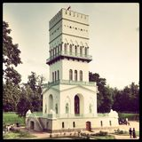 Torre no parque Fotografia de Stock Royalty Free