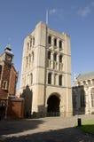 Torre normanda, St Edmunds del entierro Fotos de archivo