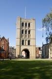 Torre normanda, St Edmunds del entierro Fotografía de archivo libre de regalías