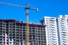 Torre nova da construção Fotografia de Stock