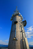 A torre nova de Pyramidenkogel em Carinthia, Áustria Imagens de Stock Royalty Free