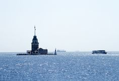 Torre nova do ` s, Istambul, um símbolo famoso de Turquia imagem de stock