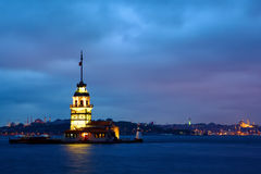 Torre nubile fotografia stock