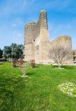 Torre nubile antica fotografia stock
