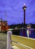 Torre Nyasineula en Tampere finlandia Imagen de archivo